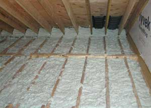 Air Krete® insulation for Highland Park