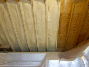 Spray Foam Insulation Installed In Highland Park