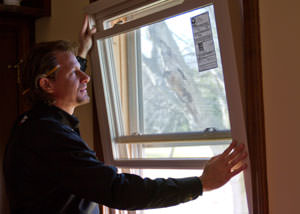 A replacement window installation in Buffalo Grove